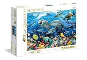 Clementoni puzzle 6000 pezzi - underwater howard robinson