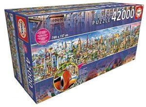 Educa puzzle 42000 pezzi - Il Giro più Grande del Mondo