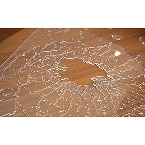 215 Pezzi Puzzle Di Vetro Rotto Super Difficolta Anormale Puzzle Chiaro Acrilico Creativo Puzzle Irregolare Puzzle Cervello Sfida Intelligenza Giocattoli Idea Regali Per Adulti Bambini 0 4
