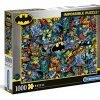 Clementoni 39575 Impossible Puzzle Batman 1000 Pezzi Made In Italy Puzzle Adulti 0