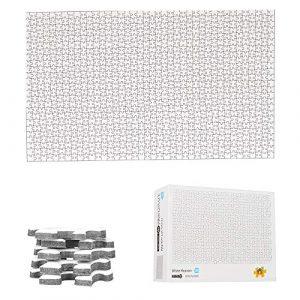 Puzzle bianco, 1000 pezzi, da dipingere - TINYOUTH
