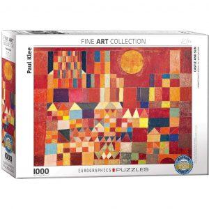Paul Klee castello e sole - Puzzle 1000 pezzi